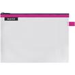 Traveller Zip-Beutel M Wow transparent/pink wasserabweisend Leitz 4025-00-23 Produktbild