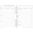 Wochenplan 2022 für Organizer A5 1Woche/2Seiten Chronoplan vertikale Zeilen 148x210mm 50572 Produktbild Additional View 1 S