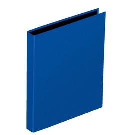 Ringbuch mit Niederhalter A4 2Ringe Ringe-Ø20mm blau Pagna 20607-06 Produktbild