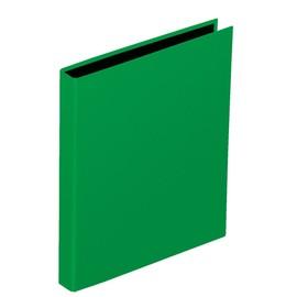 Ringbuch mit Niederhalter A4 2Ringe Ringe-Ø20mm grün Pagna 20607-05 Produktbild