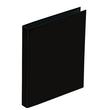 Ringbuch Basic A5 2 Ringe mit Niederhalter schwarz Pagna 20407-01 Produktbild Additional View 1 S