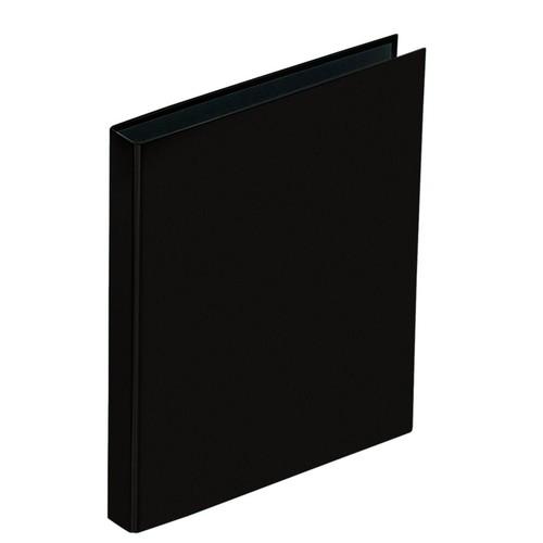 Ringbuch Basic A5 2 Ringe mit Niederhalter schwarz Pagna 20407-01 Produktbild Additional View 1 L