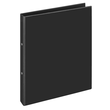 Ringbuch Comfort mit Sichttasche A4 Überbreite 2Ringe Ringe-Ø16mm schwarz PVC-Folie Veloflex 1144080 Produktbild