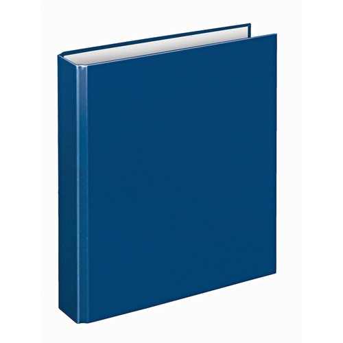 Ringbuch Basic A5 4Ringe Ringe-Ø25mm blau PP Veloflex 1153050 Produktbild Additional View 1 L