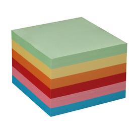 Zetteleinlagen 9,8x9,8x9cm bunt Papier Metzger&Mendle 68850300 (PACK=700 BLATT) Produktbild