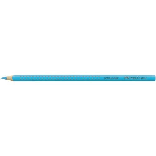 Farbstift mit Noppen COLOUR GRIP dreikant indanthtrenblau Faber Castell 112447 Produktbild