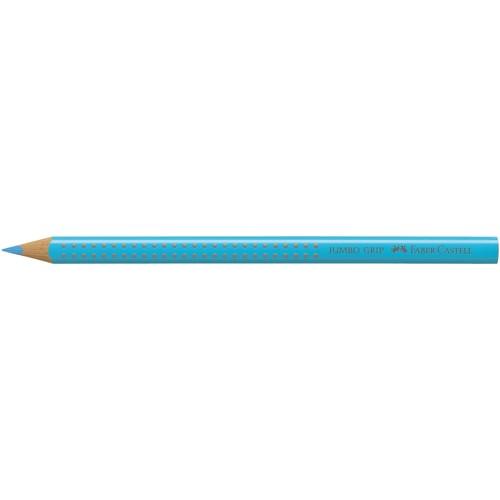 Farbstift mit Noppen JUMBO GRIP dreikant indanthrenblau Faber Castell 110947 Produktbild Front View L