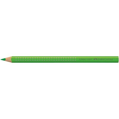 Farbstift mit Noppen JUMBO GRIP dreikant grasgrün Faber Castell 110966 Produktbild Front View L