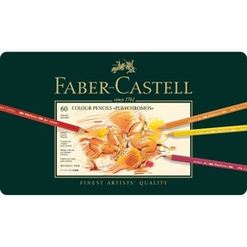 Künstlerfarbstifte POLYCHROMOS Metalletui sortiert Faber Castell 110060 (ETUI=60 STÜCK) Produktbild