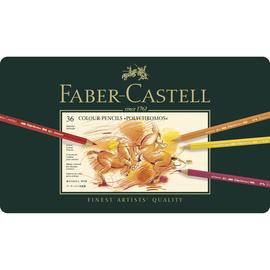 Künstlerfarbstifte POLYCHROMOS Metalletui sortiert Faber Castell 110036 (ETUI=36 STÜCK) Produktbild