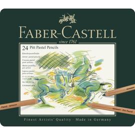 Farbstifte PITT PASTELL Metalletui sortiert Faber Castell 112124 (ETUI=24 STÜCK) Produktbild