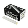Wandtafelkreide 90mm x 13mm weiß  rund mit Handschutz Mörtel 79 (PACK=12 STÜCK) Produktbild