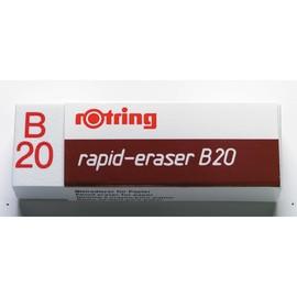 Radiergummi B20 65x21x11mm weiß Kautschuk Rotring S0194570 Produktbild