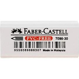 Radiergummi 7086-30 42x19x12mm weiß Kunststoff Faber Castell 188730 Produktbild
