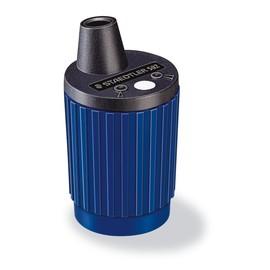 TK-Minenspitzer mit Behälter rund hoch blau Staedtler 502 Produktbild