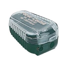 TK-Minenspitzer mit Behälter flach grün Faber Castell 186600 Produktbild