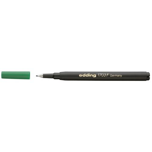 Finelinermine 1703 Vario F 0,3mm grün Edding 4-1703004 Produktbild Front View L