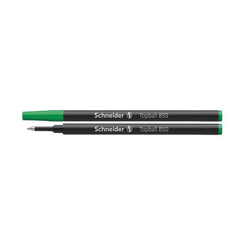Tintenrollermine Topball 850 0,5mm grün Schneider 8504 Produktbild Front View L