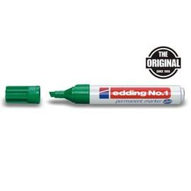 Permanentmarker No.1 1-5mm Keilspitze grün Edding 4-1004 Produktbild