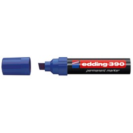 Permanentmarker 390 4-12mm Keilspitze blau Edding 4-390003 Produktbild