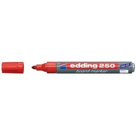 Whiteboardmarker 250 1,5-3mm Rundspitze rot trocken abwischbar Edding 4-250002 Produktbild
