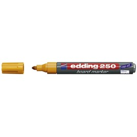 Whiteboardmarker 250 1,5-3mm Rundspitze orange trocken abwischbar Edding 4-250006 Produktbild