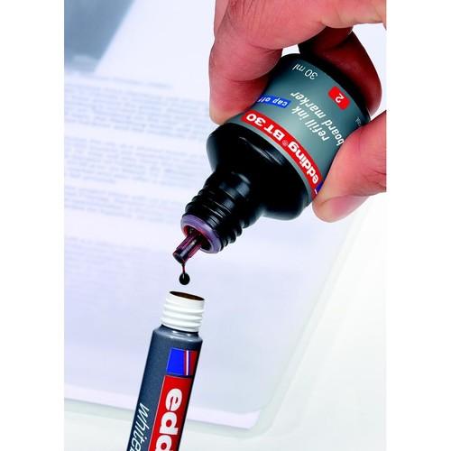 Whiteboardmarker 250 1,5-3mm Rundspitze hellblau trocken abwischbar Edding 4-250010 Produktbild Additional View 4 L