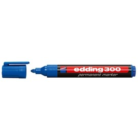 Permanentmarker 300 1,5-3mm Rundspitze blau Edding 4-300003 Produktbild