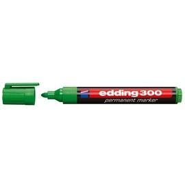 Permanentmarker 300 1,5-3mm Rundspitze grün Edding 4-300004 Produktbild
