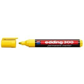 Permanentmarker 300 1,5-3mm Rundspitze gelb Edding 4-300005 Produktbild