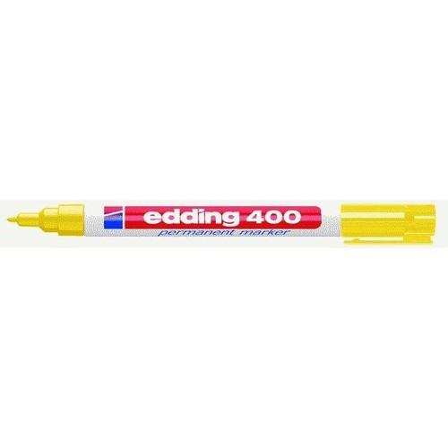 Permanentmarker 400 1mm Rundspitze gelb Edding 4-400005 Produktbild