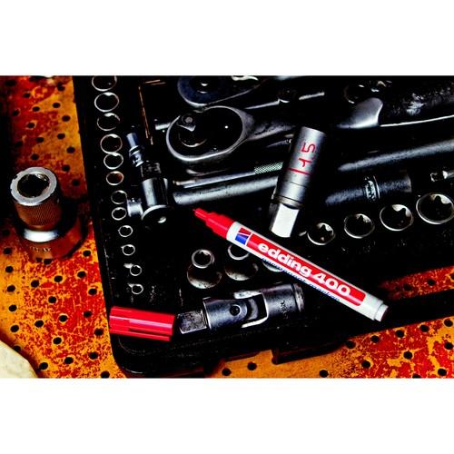 Permanentmarker 400 1mm Rundspitze rot Edding 4-400002 Produktbild Additional View 1 L