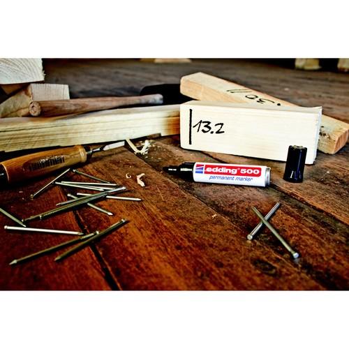 Permanentmarker 500 2-7mm Keilspitze braun Edding 4-500007 Produktbild Additional View 1 L