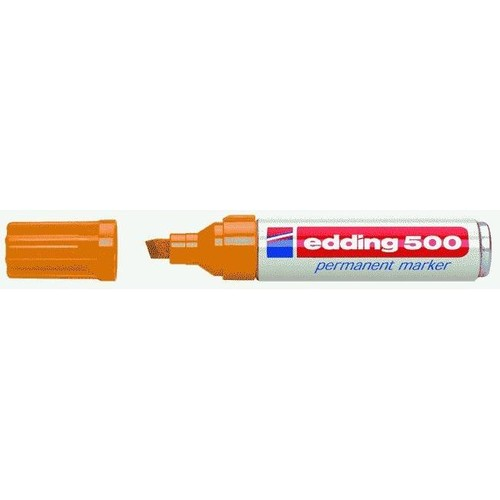 Permanentmarker 500 2-7mm Keilspitze orange Edding 4-500006 Produktbild