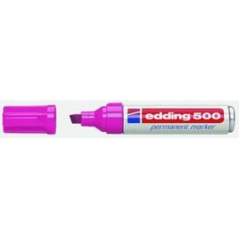 Permanentmarker 500 2-7mm Keilspitze rosa Edding 4-500009 Produktbild