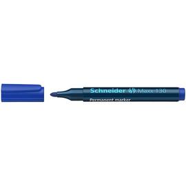 Permanentmarker Maxx 130 1-3mm Rundspitze blau Schneider 113003 Produktbild