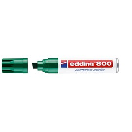Permanentmarker 800 4-12mm Keilspitze grün Edding 4-800004 Produktbild