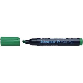 Permanentmarker Maxx 250 2-7mm Keilspitze grün Schneider 125004 Produktbild