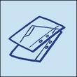 Permanentmarker 850 5-16mm Keilspitze blau Edding 4-850003 Produktbild Additional View 7 S
