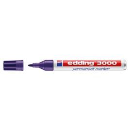 Permanentmarker 3000 1,5-3mm Rundspitze violett Edding 4-3000008 Produktbild