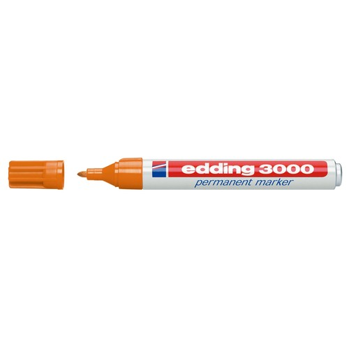 Permanentmarker 3000 1,5-3mm Rundspitze orange Edding 4-3000006 Produktbild