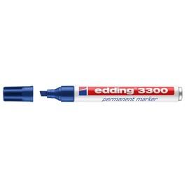 Permanentmarker 3300 1-5mm Keilspitze blau Edding 4-3300003 Produktbild