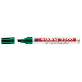 Permanentmarker 3300 1-5mm Keilspitze grün Edding 4-3300004 Produktbild