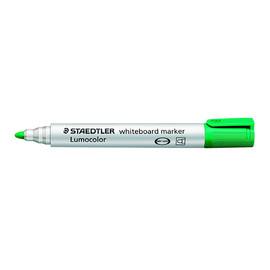 Whiteboardmarker Lumocolor 351 2mm Rundspitze grün trocken abwischbar Staedtler 351-5 Produktbild