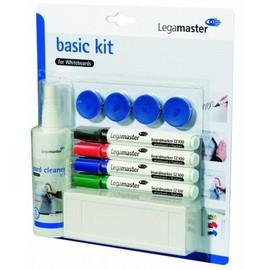 BASIC-KIT für Whiteboard Tafelwischer + Spray + Stifte + Magnete Legamaster 7-125100 Produktbild