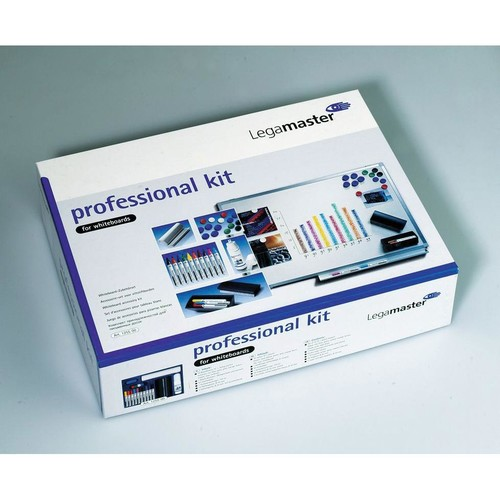 PROFESSIONAL-KIT für Whiteboards Spray + Tafelwischer + Stifte + Magnete Legamaster 7-125500 Produktbild Additional View 1 L