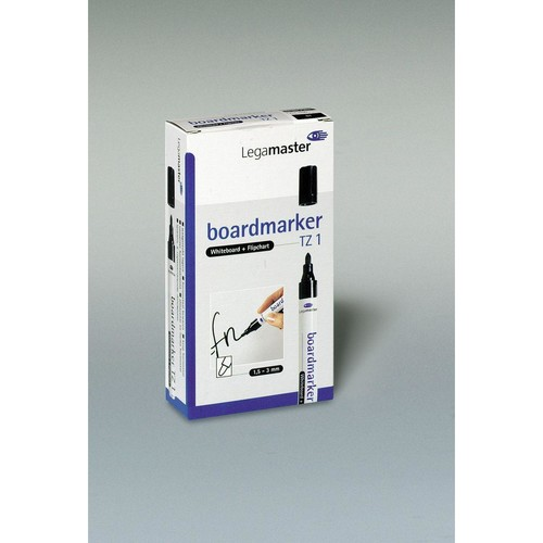 Whiteboardmarker TZ1 1,5-3mm Rundspitze schwarz Legamaster 7-110001 Produktbild Additional View 1 L