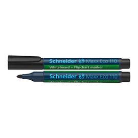 Whiteboardmarker Maxx Eco 110 1-3mm Rundspitze schwarz Schneider 111001 Produktbild