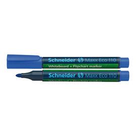 Whiteboardmarker Maxx Eco 110 1-3mm Rundspitze blau Schneider 111003 Produktbild