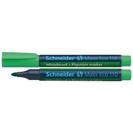 Whiteboardmarker Maxx Eco 110 1-3mm Rundspitze grün Schneider 111004 Produktbild